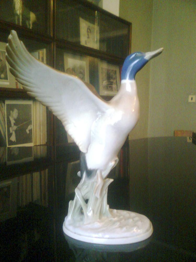 Скульптура декоративная «Дикая утка»