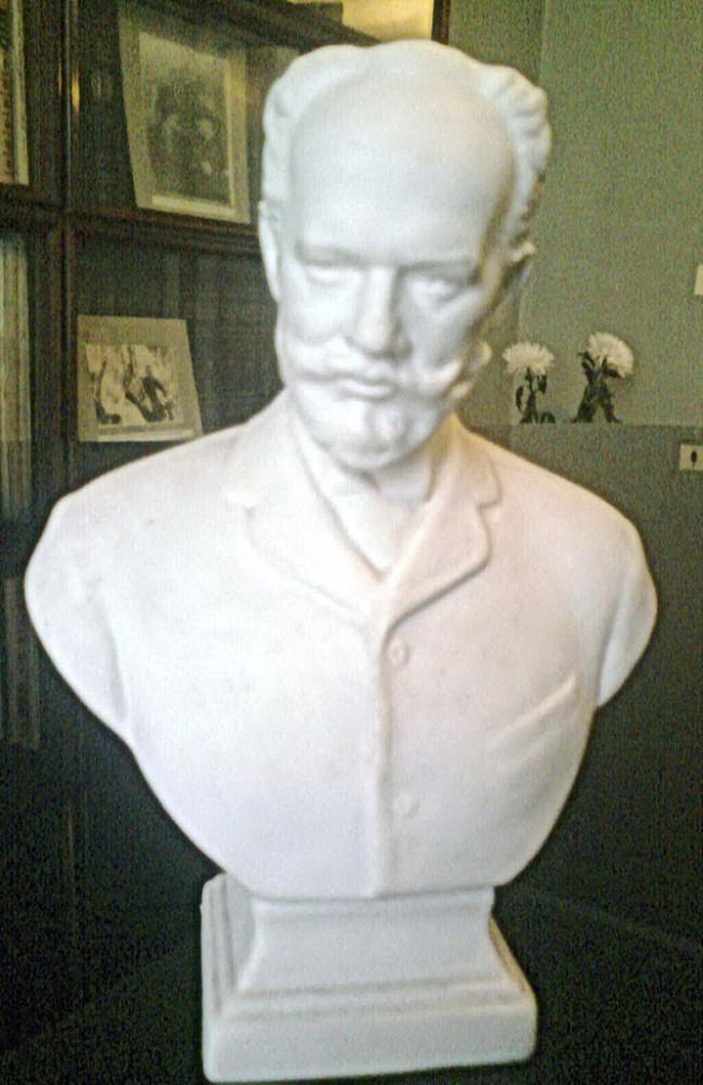 Скульптура «Бюст композитора П.И. Чайковского»