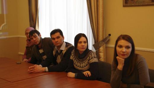 участники вечера (Санкт - Петербург)