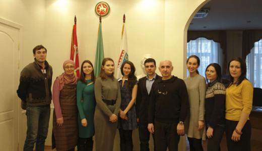 фото на память, Санкт - Петербург, Постпредство РТ, 12 марта 2016 года