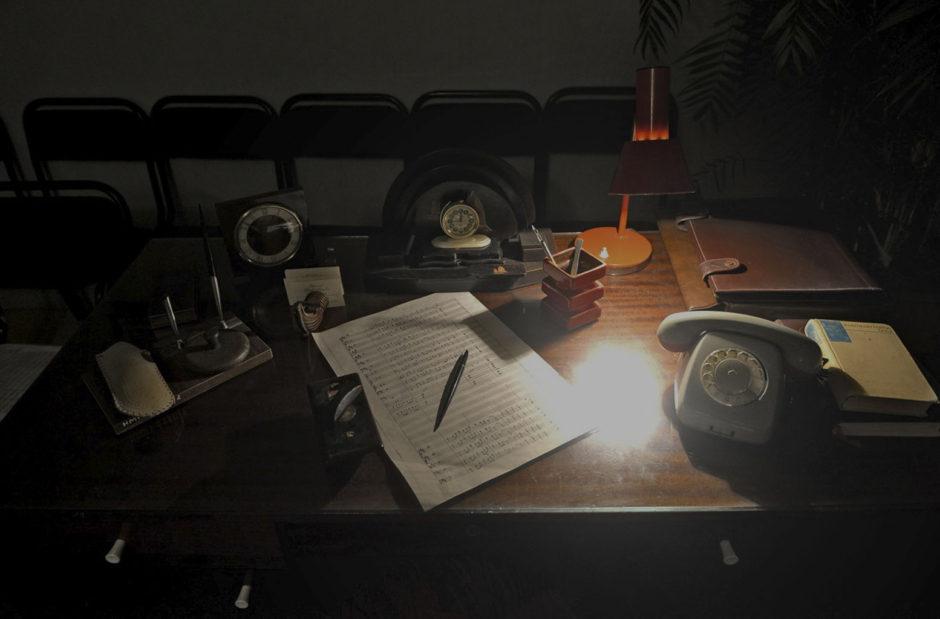 Письменный стол композитора Назиба Жиганова