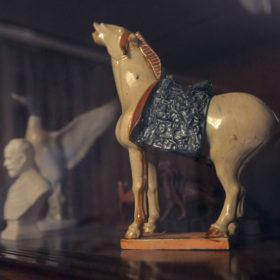 Скульптура «Белый конь» композитора Назиба Жиганова