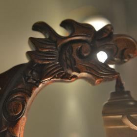 Голова дракона. Из музейной коллекции композитора Назиба Жиганова