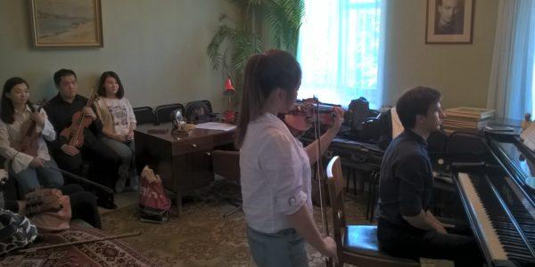 В гости к Назибу Жиганову