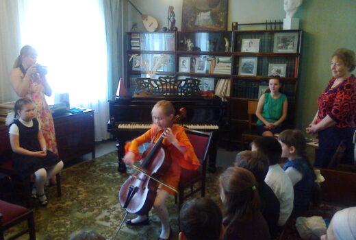 День юного музыканта в музее Назиба Жиганова 2015