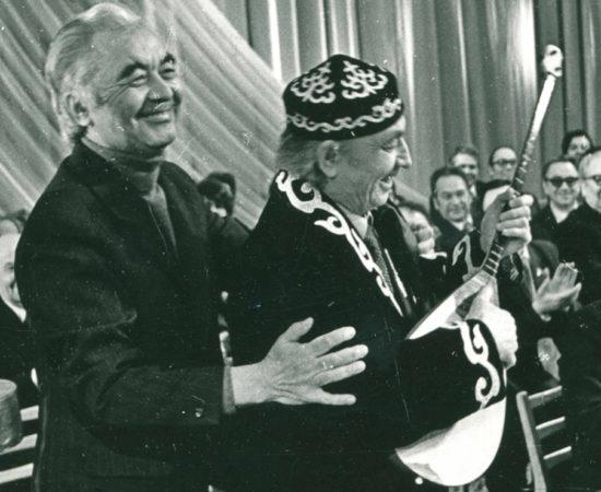 00022 а Назиб Жиганов и Куддус Кужемьяров, Казань, 1981 г. - копия