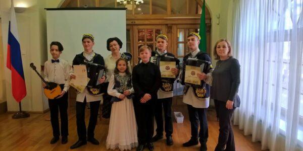 Лауреаты конкурса имени Назиба Жиганова в Национальном музее РТ